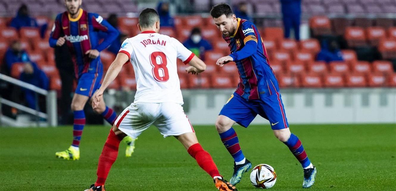 في الوقت الإضافي.. 'برشلونة' يتخطّى 'إشبيلية' ويبلغ نهائي 'كأس الملك'