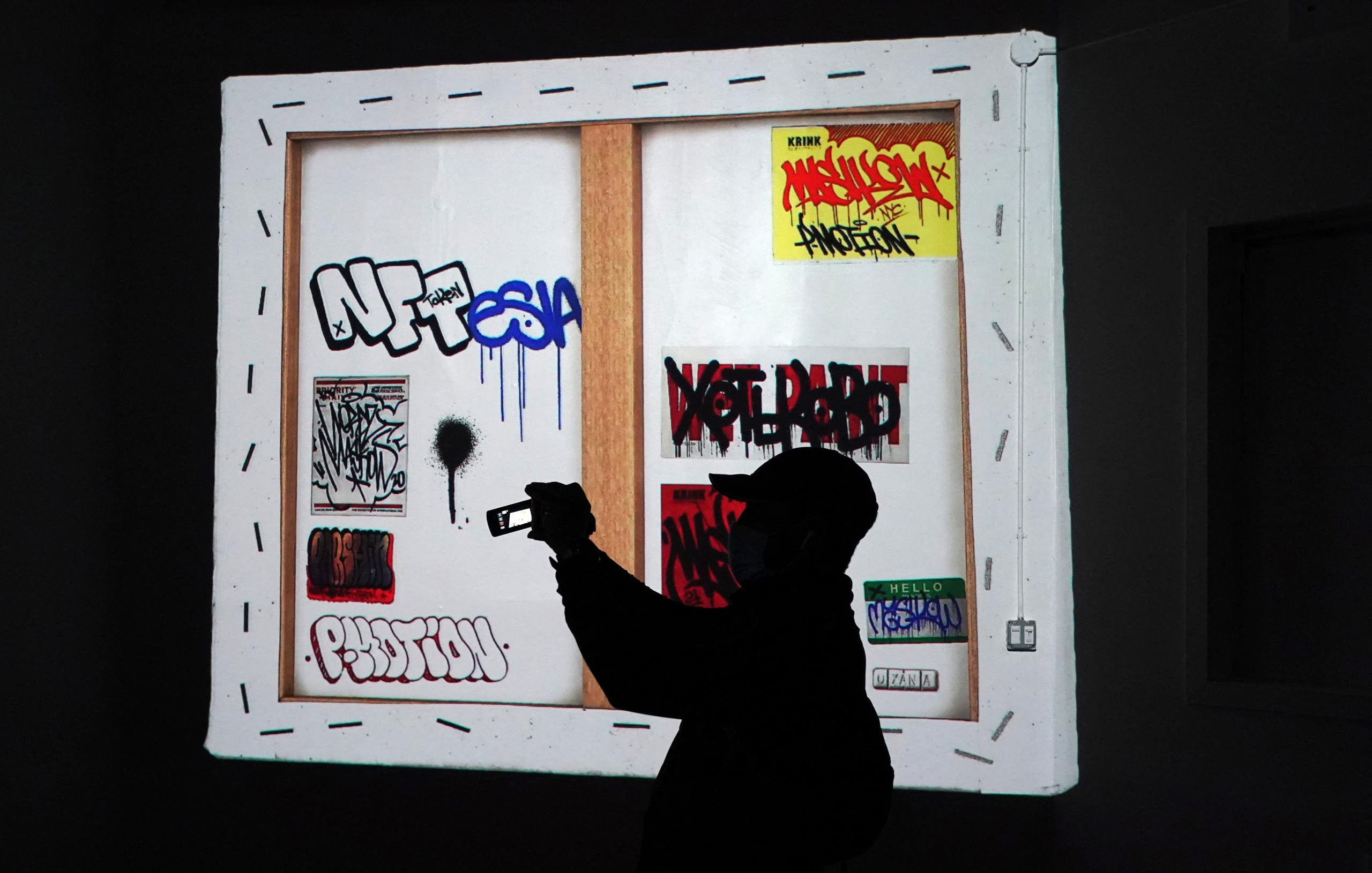 """معرض مادي في نيويورك للأعمال الرقمية بتقنية """"إن. إف. تي"""""""