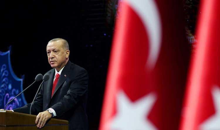 45 دقيقة بين أردوغان ووزير خارجية قطر
