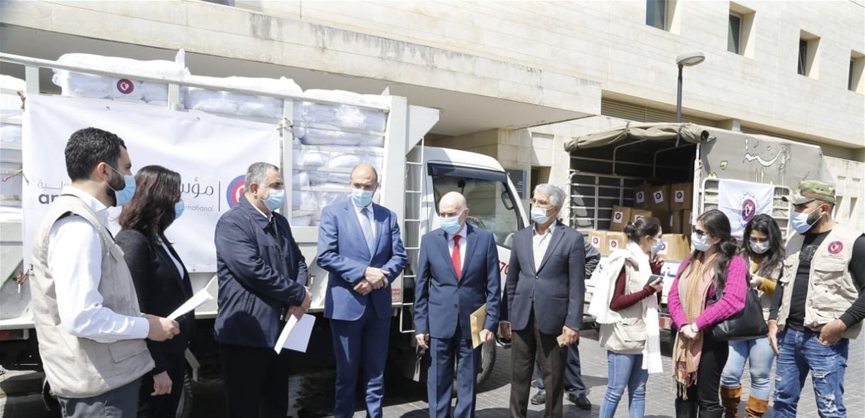 حسن: اللبنانيون جميعاً يستفيدون من الهبات التي تقدم بهدف حصول الجميع على الخدمة