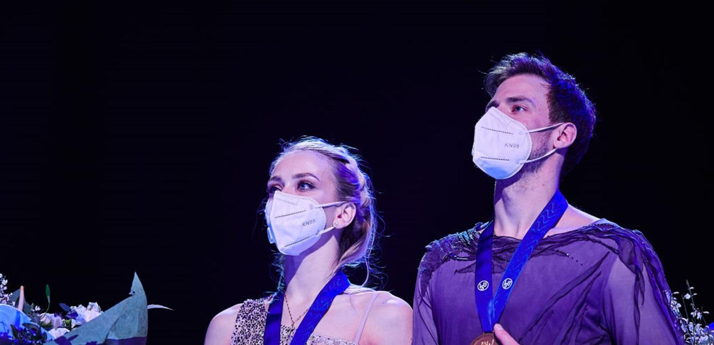 روسيا تتوّج ببطولة العالم في الرقص الفني على الجليد