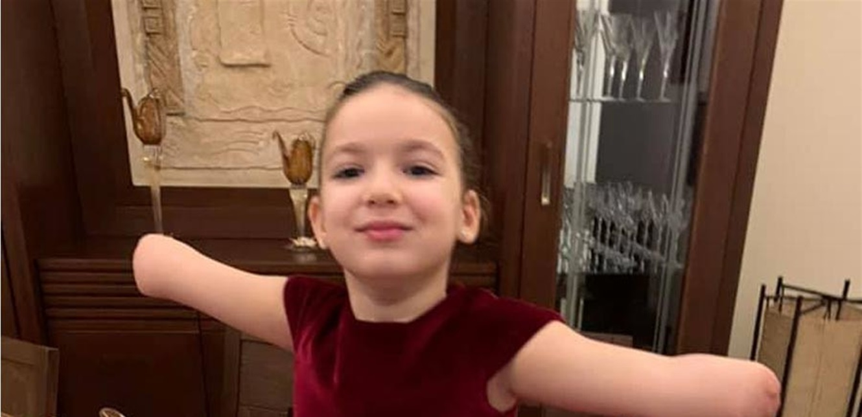 فيديو مؤثر جدا.. ايلا طنوس تغني لقيامة لبنان