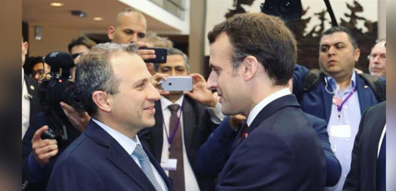 باسيل 'يعوّم' نفسه دولياً ومخاوف من 'تسوية جديدة' في باريس!