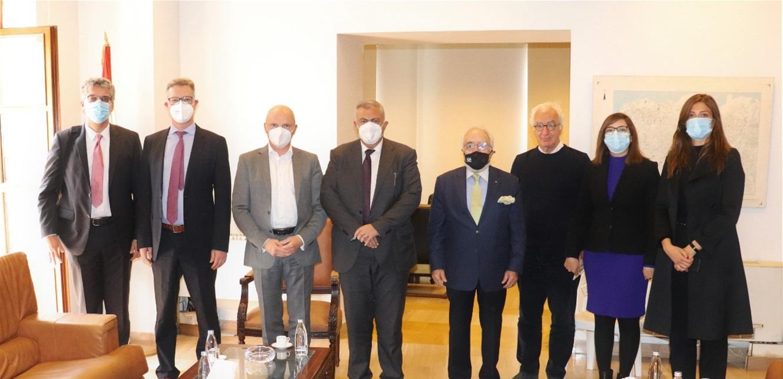 محافظ بيروت بحث مع السفير الألماني مشروع إعادة إعمار مرفأ بيروت