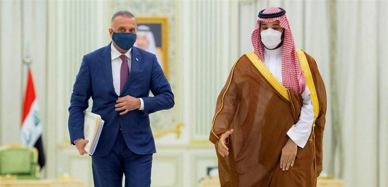 بماذا أجاب ولي العهد السعودي رئيس وزراء العراق عن لبنان؟