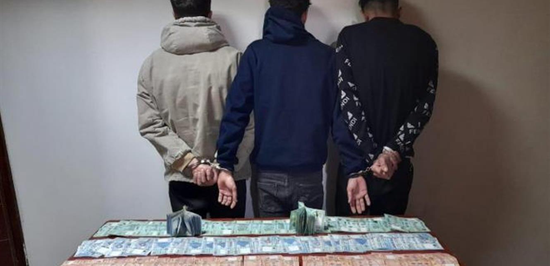 ملثّمون سرقوا مبلغاً من المال.. و'المعلومات' توقفهم بأقلّ من 24 ساعة