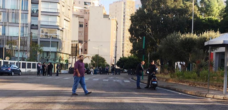 تجمع لمعتصمين في فردان على خلفية استدعاء الناشطة نسرين شاهين