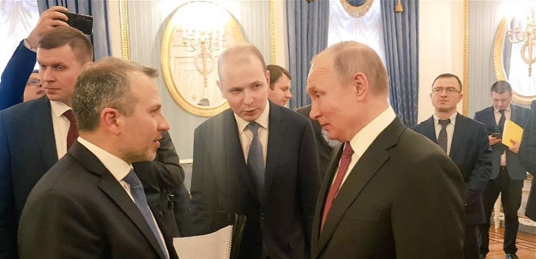 باسيل يزور موسكو.. مبادرة روسية قريبة؟