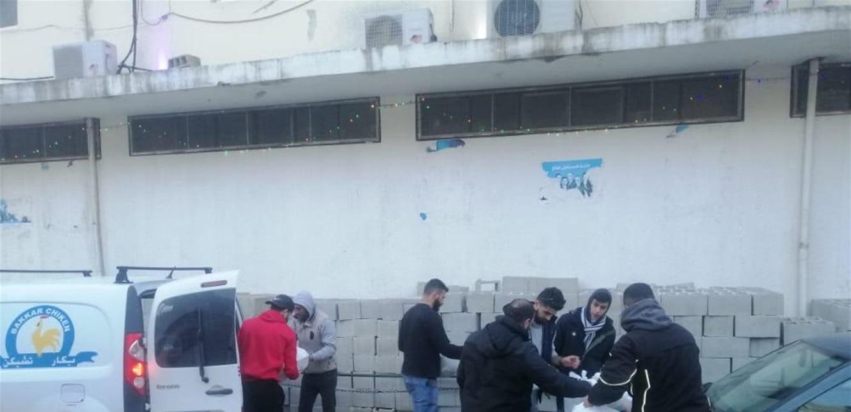 الأعمال الإنسانيّة مستمرة في مشتى حسن… سوق خضار و تأمين إفطارات رمضانيّة (صور)