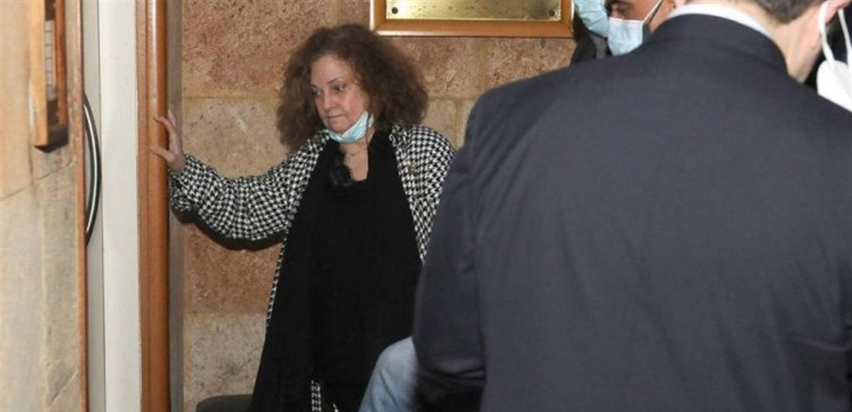 هل تشارك غادة عون في الاجتماع غدا مع مجلس القضاء الاعلى؟