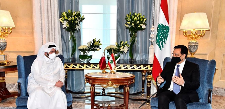 هذه لقاءات دياب في الدوحة..
