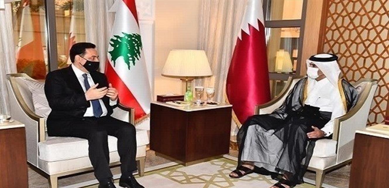 زيارة دياب إلى قطر إيجابية
