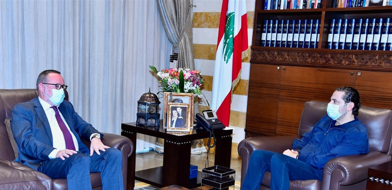 الحريري التقى سفيري النرويج واسبانيا