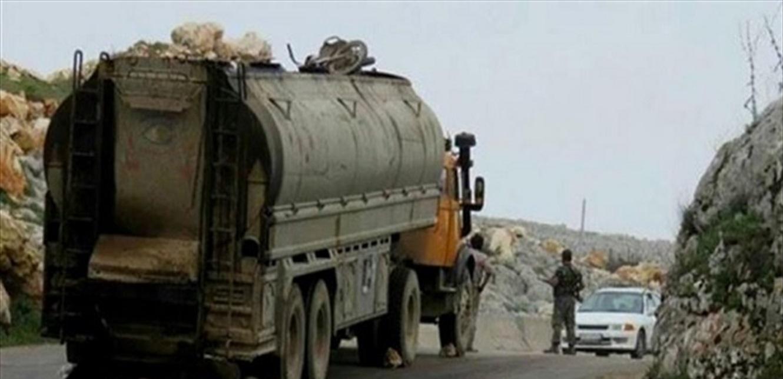 إحباط تهريب 34 الف ليتر من المازوت إلى سوريا