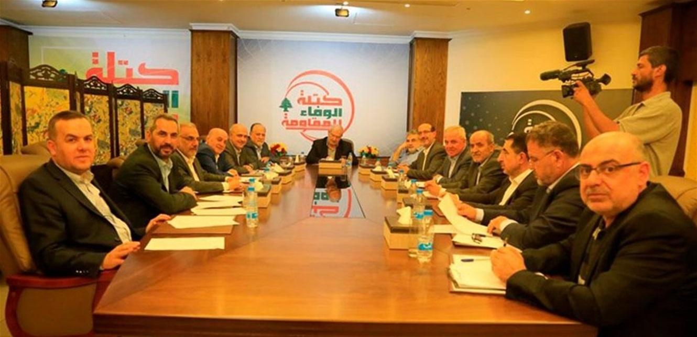 الوفاء للمقاومة: تشاور الحريري مع عون الممر الطبيعي لولادة الحكومة