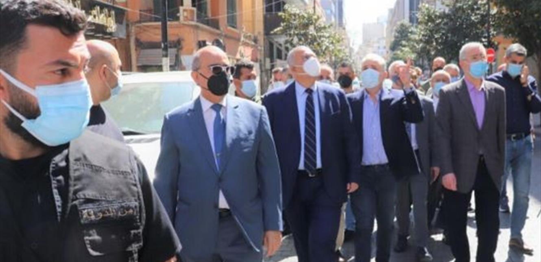 محافظ بيروت جال في الحمرا واطلع على أعمال التأهيل في حرج بيروت