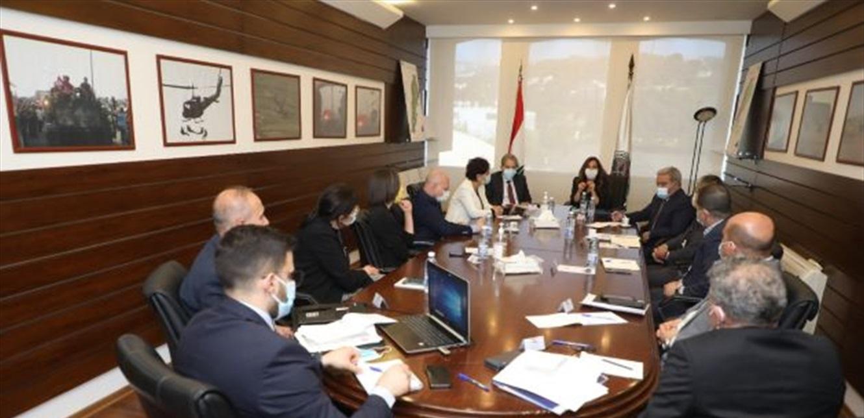 اجتماع لعكر والمشرفية بحث في مساعدات المنظمات الدولية