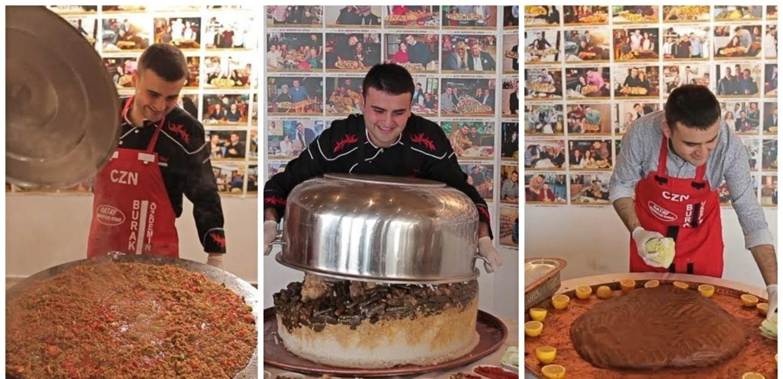 الشيف بوراك يتفوق من جديد.. ما فعله بالطعام مدهش (فيديو)