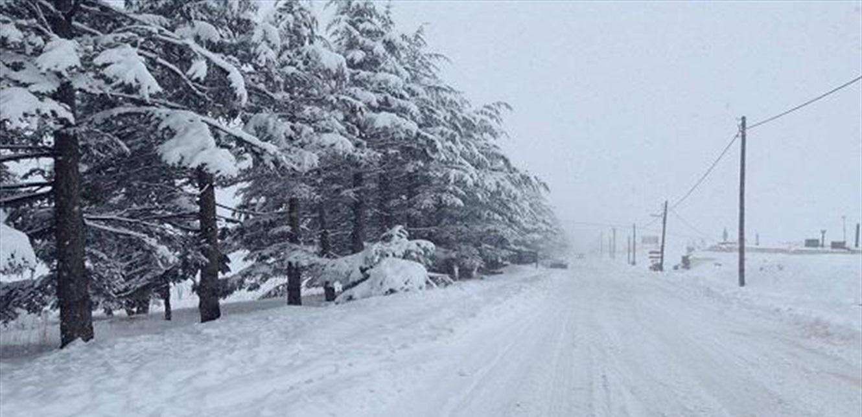 الطقس غدا ماطر مع انخفاض في الحرارة.. والثلوج على 1700 متر