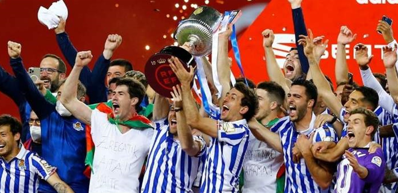 كأس ملك اسبانيا في جعبة سوسييداد