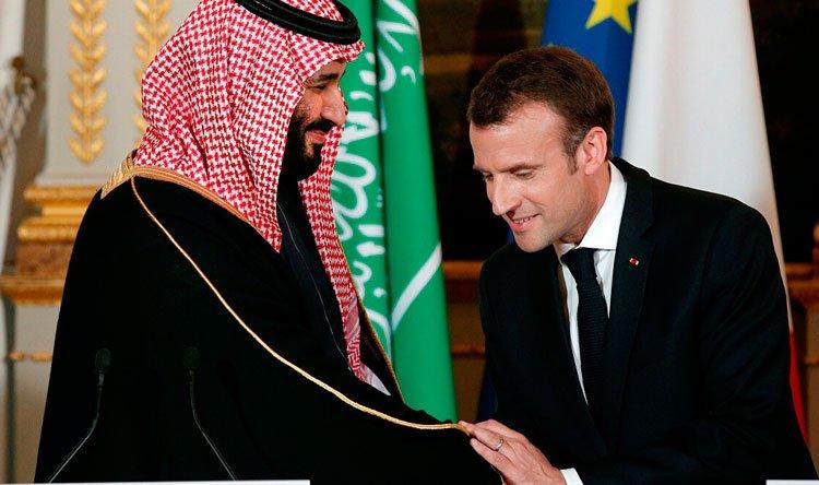 """ماكرون وبن سلمان: لحكومة لبنانية """"ذات مصداقية"""""""