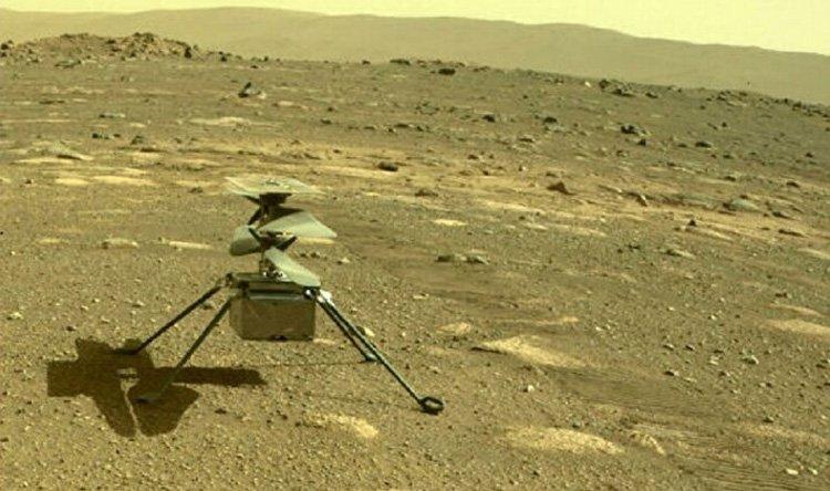 موعد أول تحليق للمروحية على المريخ