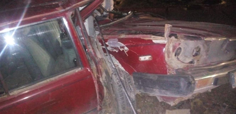 اصطدامت سيارته بعمود إنارة في قبة دورس.. فتوفي (صورة)