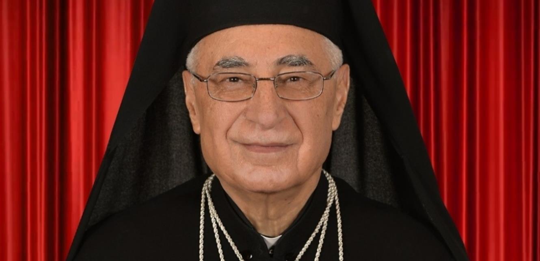 البطريرك العبسي مهنئاً بالفصح: ليكون الفصح بمعانيه الروحية حافزا لقيامة لبنان الجديد