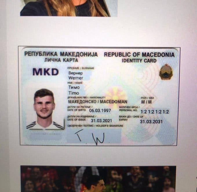 بعد إضاعته فرصة محققة لفريقه.. مهاجم ألمانيا يحصل 'المواطنة المقدونية'!