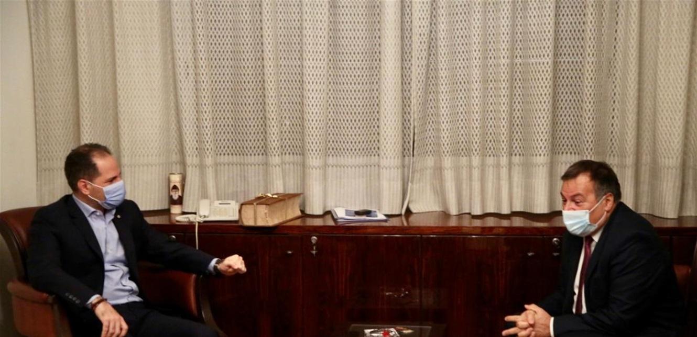 الجميل يلتقي سفير بلغاريا