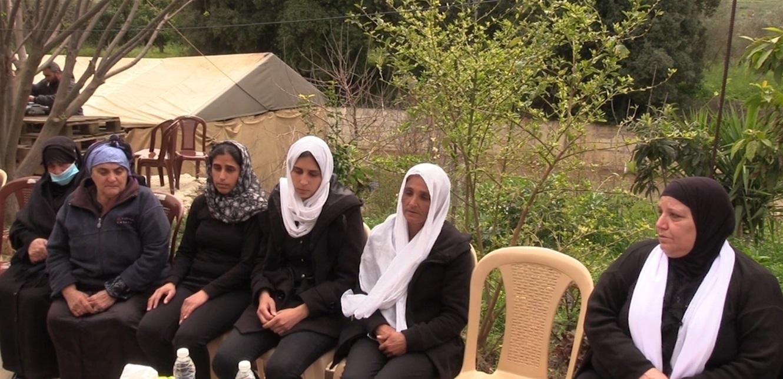 بلدة بحبوش في الكورة شيعت الفتيات الثلاث