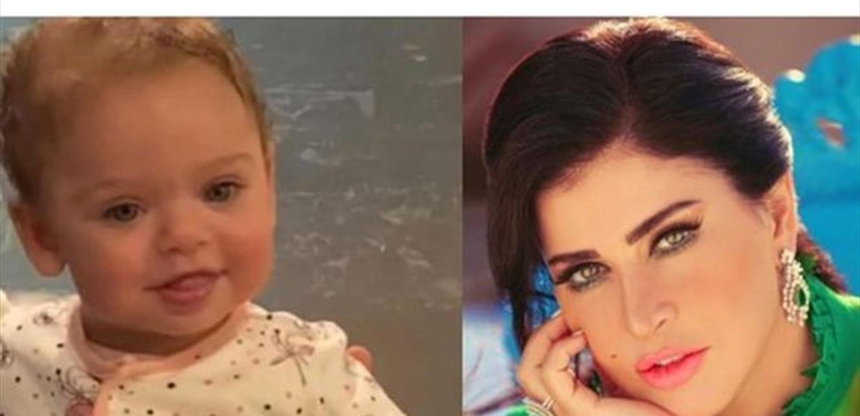 جومانا مراد منهارة.. لقطات أولى من عزاء طفلتها ديانا (صور وفيديو)