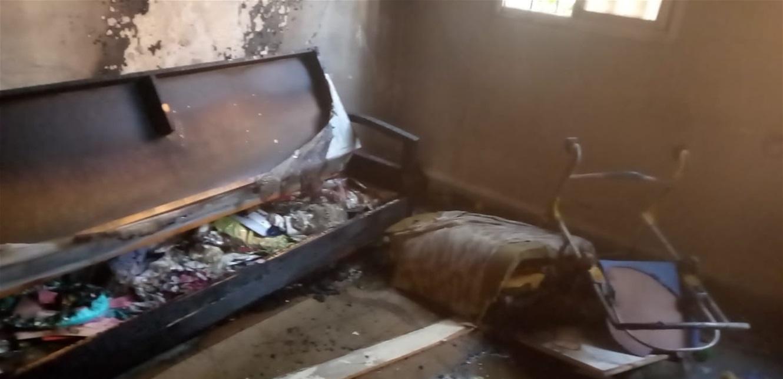 حريق وانقاذ طفل… هذا ما حصل في برج حمود (صور)